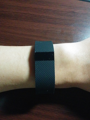 Fitbit Charge HRを購入