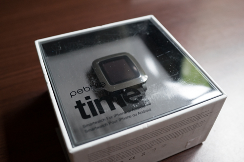 pebble time box