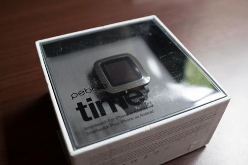 スマートウォッチ「Pebble time」を購入